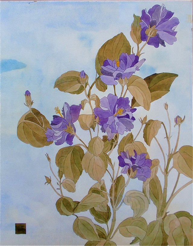 Floral Botanical By Ira Dobbs