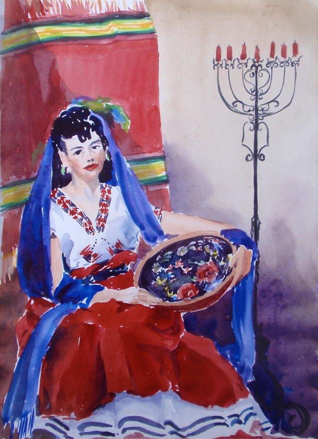 Portrait of a Señorita