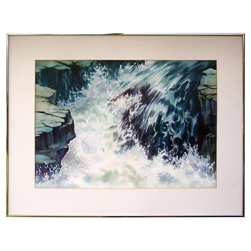 Sierra Waterfall by Ann Pierce