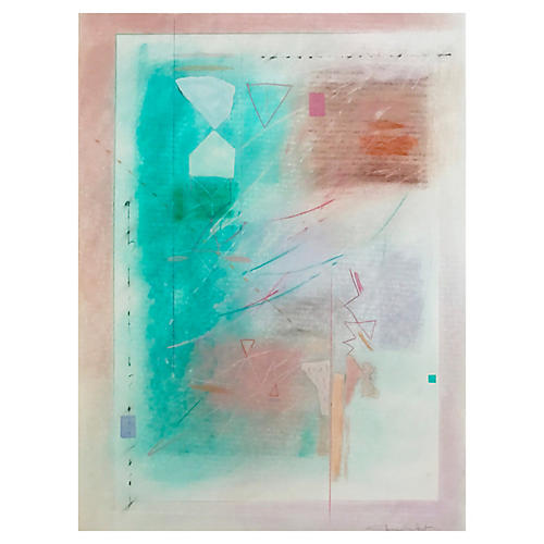 Abstract Mixed Media by Sherry Schrut