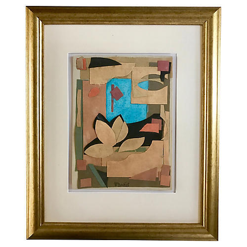 Abstract Collage by Harold C. Davies