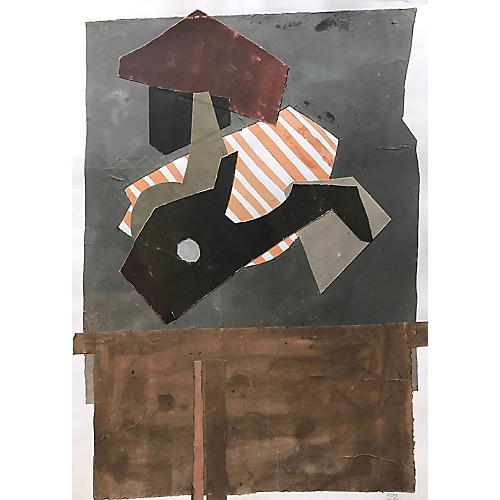 Abstract Collage by Roger Stokes