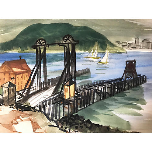 Tiburon-San Francisco Ferry