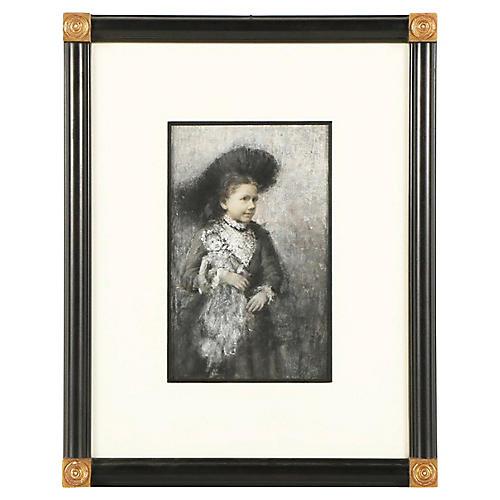 Antique Portrait by William Harper