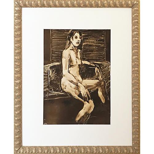 Modernist Female Nude