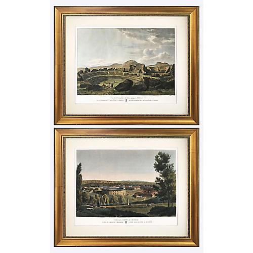 1806 Engravings of Spanish Ruins, S/2