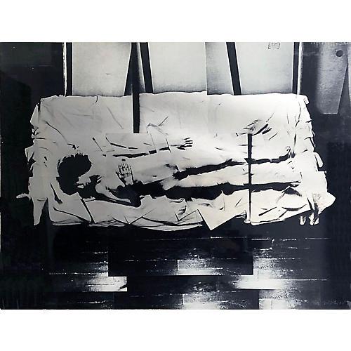 Japanese Modernist Nude by Nishiki
