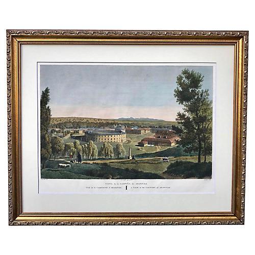 Spanish Ruins Alexandre De Laborde 1806