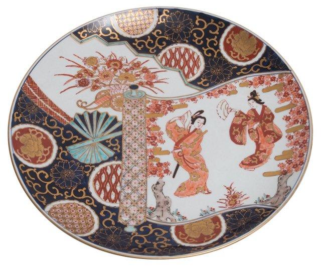 Meiji-Era Imari  Charger