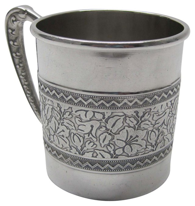 Antique Silverplate Cup