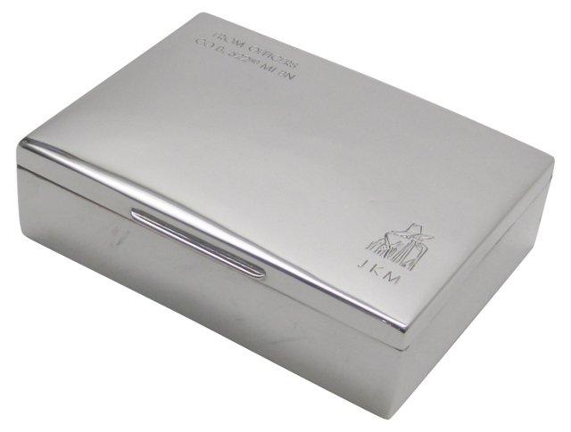 1940s Silverplate Box