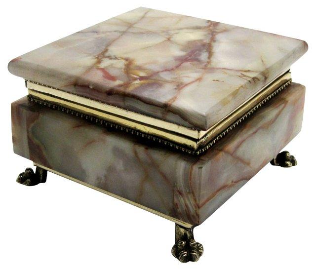 Italian Marble Box