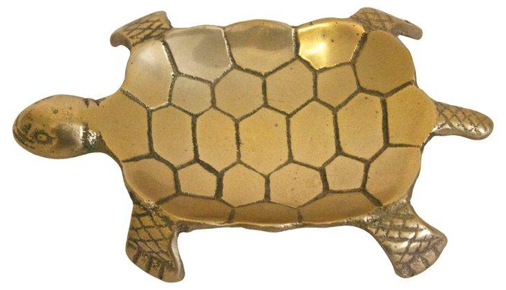 Brass Turtle Catchall