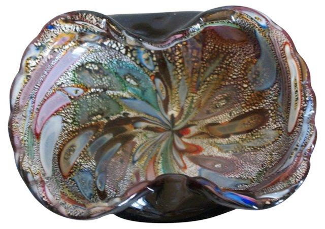 Colorful Murano Dish