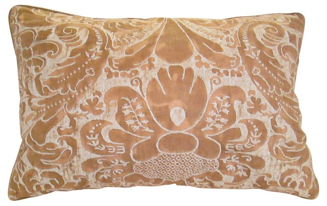 Gold Fortuny     Pillow