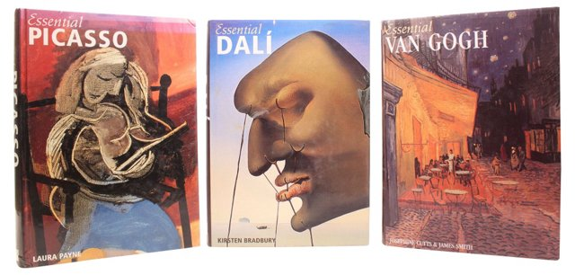 Picasso, Van Gogh, Dalí, S/3