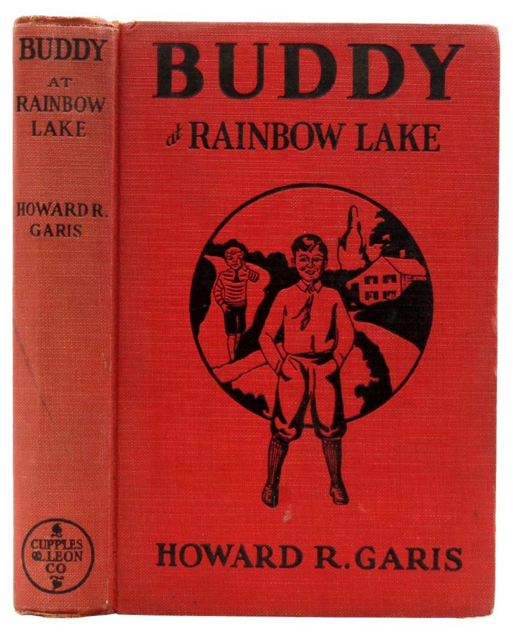 Buddy at Rainbow Lake, 1930
