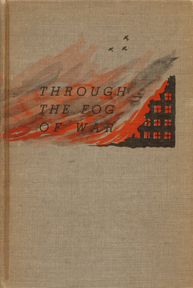Through the Fog of War, 1938, 1st Ed