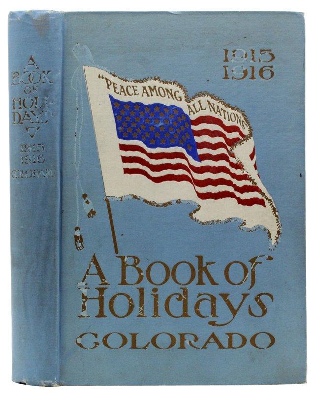 del Book Of Holidays: Colorado 1915-1916