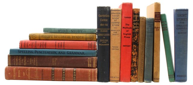 Decorative Reference Books, S/15