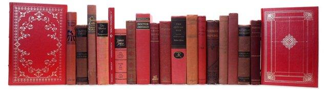 Decorative  Literary Classics, Red, S/20