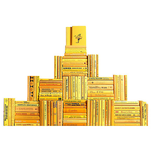 Yellow Book Wall, S/100