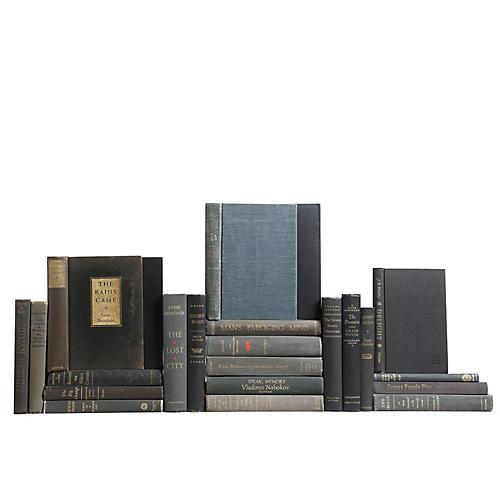 Midcentury Charcoal Books, S/25