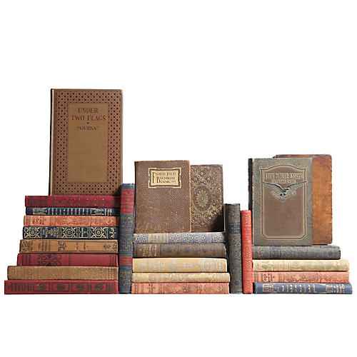 Pocket-Sized Earthtone Book Set, S/25