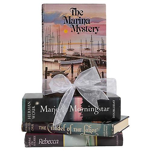 Vintage Gift Set: Midcentury Novels, S/4