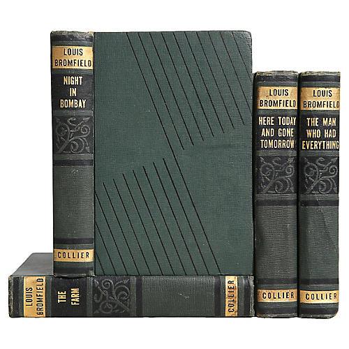 Art Deco Novels in Green, S/4