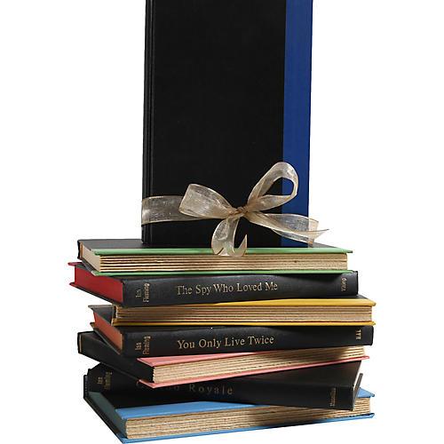 Gift Set: James Bond Books in Black, S/7