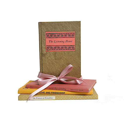 Vintage Gift Set: Love & Friendship, S/4