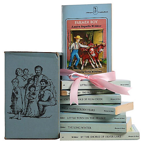 The Little House Boxed Gift Set, S/8