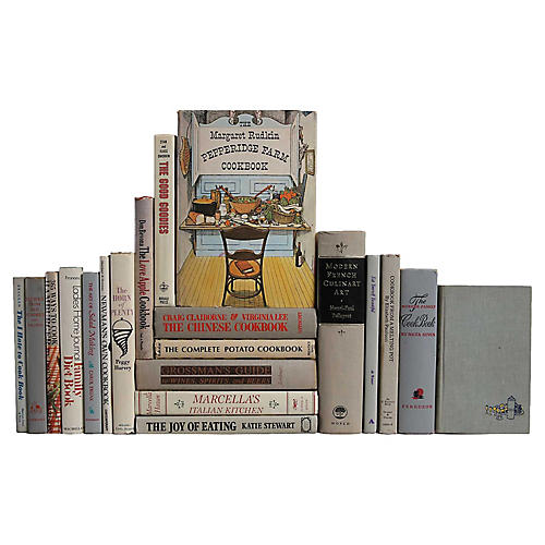 Vintage Cookbook Collection, S/20