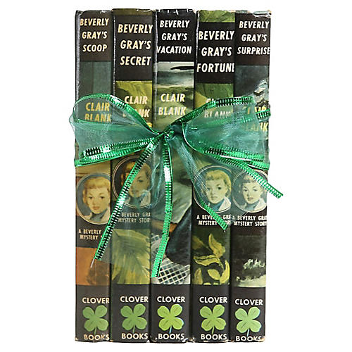 Vintage Book Gift Set: Beverly Gray S/5