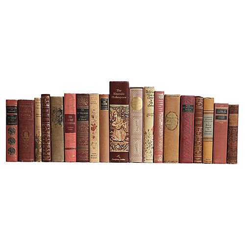 Caramel & Rose Book Set - S/20