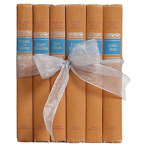 Vintage Book Set: Louisa May Alcott, S/6