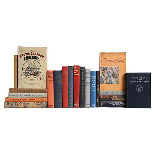 New England Sea Port - Book Set, S/20