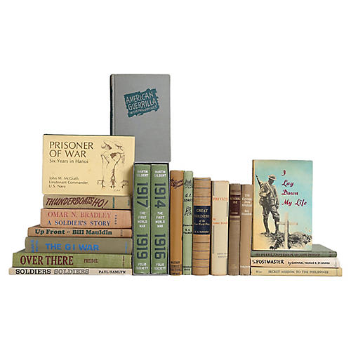 A Soldier's Story Book Set, S/20