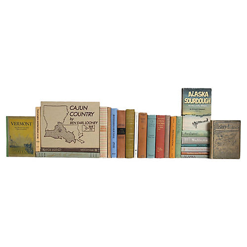 American Journey Book Set, S/25