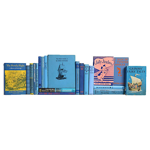 Bright Blue Stories For Kids, S/12