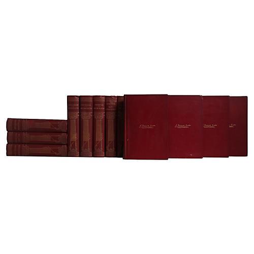 Antique Book Set : J. F. Cooper, S/16