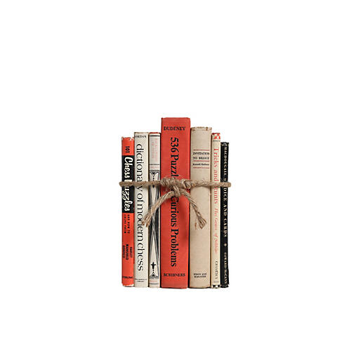 Vintage Book Gift Set: Game Lovers, S/7