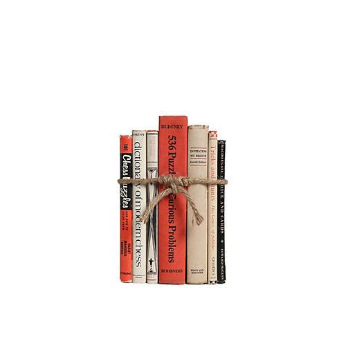 Vintage Book Gift Set: Game Lovers, S/7