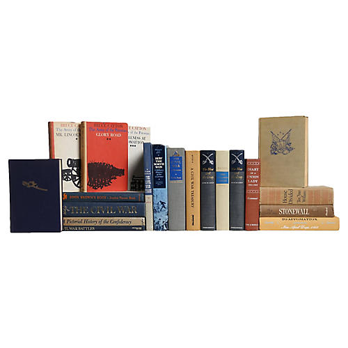 Civil War Books, S/20