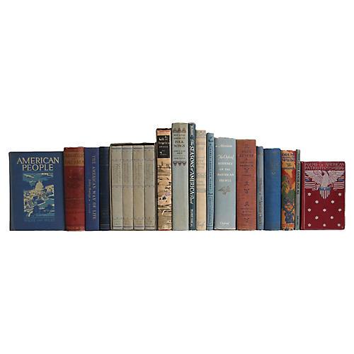 Americana Book Set, S/20
