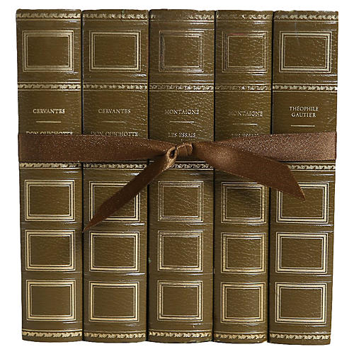 French Classics Book Set, S/5