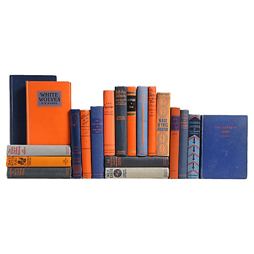 Orange & Blue Books, S/20