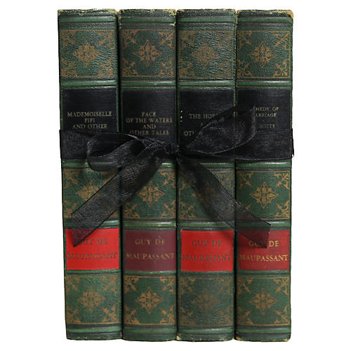 Guy de Maupassant Books, S/4