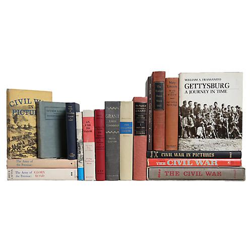 Civil War Battles & More Book Set, S/18